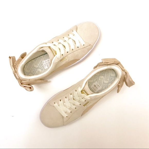 e3ade3bcbdcf Firm 👟 Puma Suede Bow Varsity Women s Sneakers